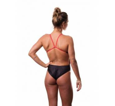 Costume intero donna Italia Black SwimmerWear